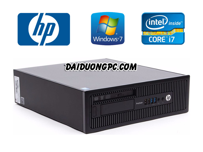 HP Prodesk 600 G1 SFF Core I7 4770 Haswell DDR3 4G HDD 250G